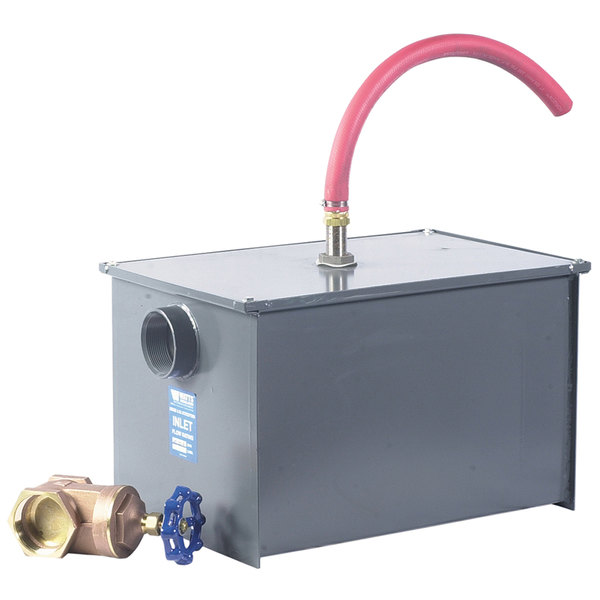Watts WD-35-A 70 lb. Grease Trap with Partially Automatic Draw-Off