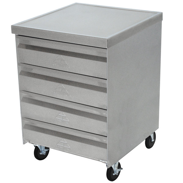 Advance Tabco MDC-4-2015 Mobile Drawer Cabinet - 4 Drawers Main Image 1
