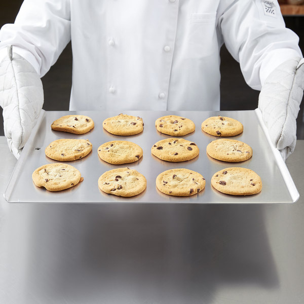 "Vollrath 68085 Wear-Ever 17"" x 14"" Aluminum Cookie Sheet"