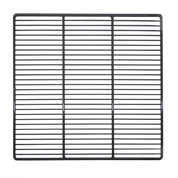"""Randell HD SHL105 25 3/8"""" x 22"""" Powder-Coated Gray Wire Shelf for 2010F, 2410, 2410P, 2420, and 2420P Main Image 1"""