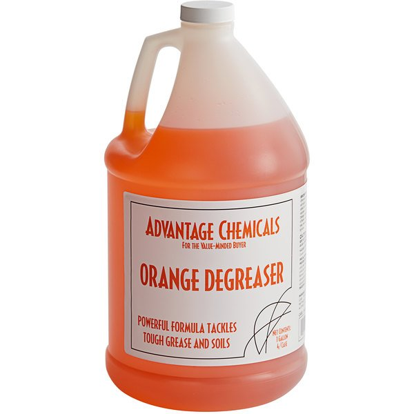 Advantage Chemicals 1 Gallon Orange Cleaner / Degreaser  - 4/Case