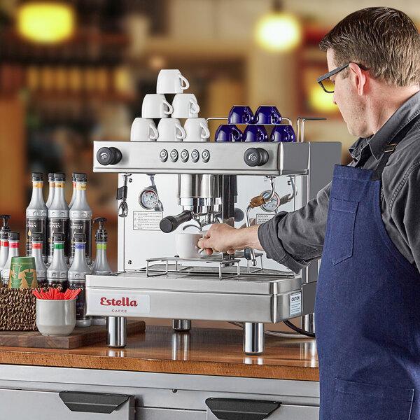 Estella Caffe ECEM1 One Group Automatic Espresso Machine - 120V Main Image 4