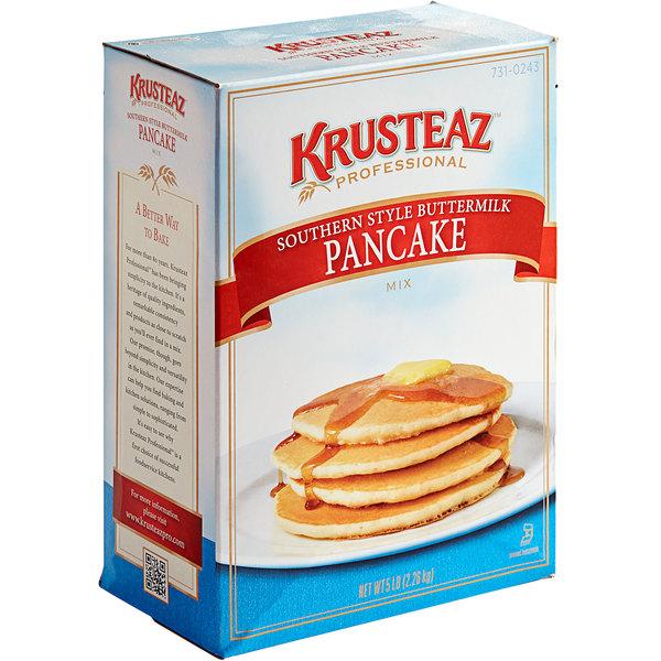 Krusteaz Professional 5 lb. Southern-Style Buttermilk Pancake Mix - 6/Case