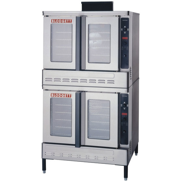 Blodgett DFG-100 Premium Series Liquid Propane Double Deck Full Size Convection Oven