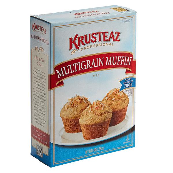 Krusteaz Professional 5 lb. Multigrain Muffin Mix - 6/Case