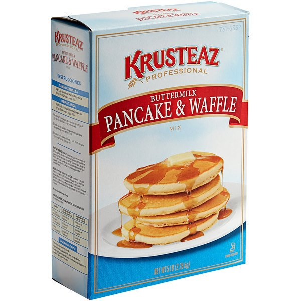 Krusteaz Professional 5 lb. Buttermilk Pancake & Waffle Mix - 6/Case