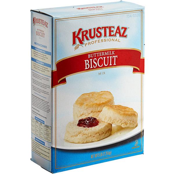 Krusteaz Professional 5 lb. Buttermilk Biscuit Mix - 6/Case