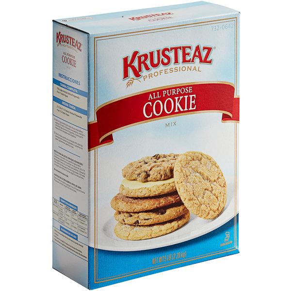 Krusteaz Professional 5 lb. All-Purpose Cookie Mix - 6/Case Main Image 1