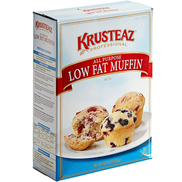 Krusteaz Professional 4.5 lb. All-Purpose Low-Fat Muffin Mix - 6/Case