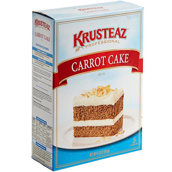 Krusteaz Professional 5 lb. Carrot Cake Mix - 6/Case