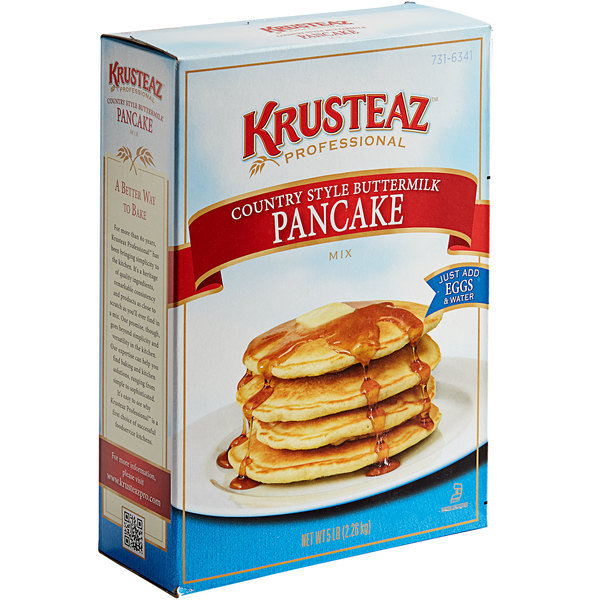 Krusteaz Professional 5 lb. Country-Style Buttermilk Pancake Mix - 6/Case