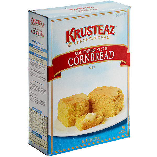 Krusteaz Professional 5 lb. Southern-Style Cornbread Mix - 6/Case Main Image 1
