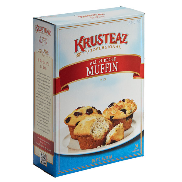 Krusteaz Professional 5 lb. All-Purpose Muffin Mix - 6/Case Main Image 1