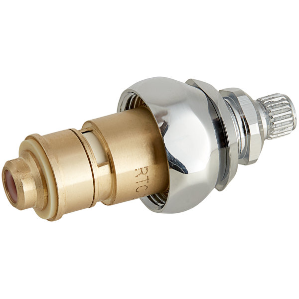 T&S Brass 011616-25NS Hot Right to Close Cerama Cartridge with Check Valve and Escutcheon Bonnet
