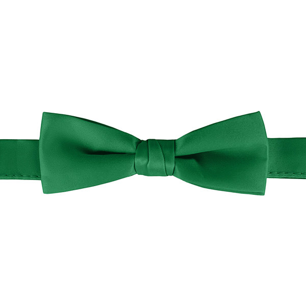 "Henry Segal Kelly Green 1 1/2"" Wide Adjustable Band Poly-Satin Bow Tie Main Image 1"