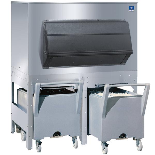 Manitowoc FC-1350 Ice Storage Bin with 2 Carts - 1350 lb. Main Image 1