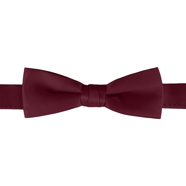 """Henry Segal Burgundy 1 1/2"""" Wide Adjustable Band Poly-Satin Bow Tie Main Image 1"""