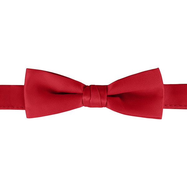 "Henry Segal Scarlet 1 1/2"" Wide Adjustable Band Poly-Satin Bow Tie Main Image 1"