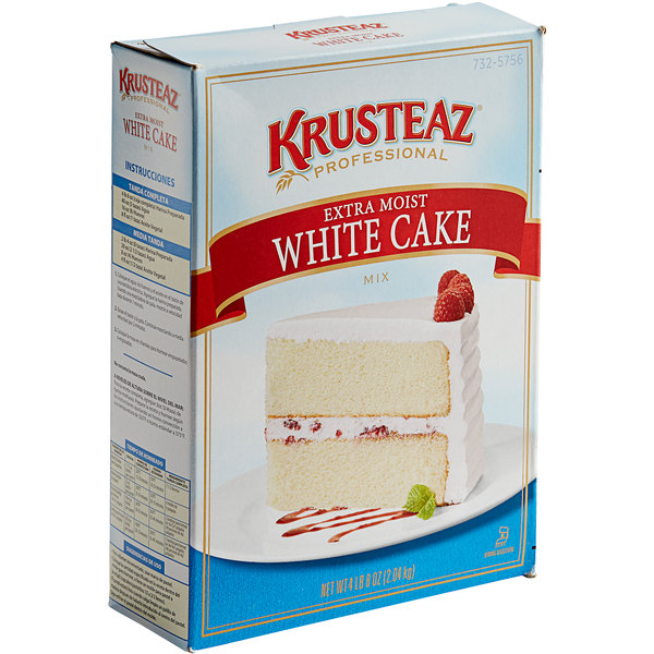 Krusteaz Professional 4.5 lb. Extra Moist White Cake Mix
