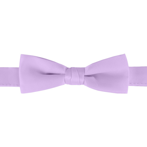 "Henry Segal Lilac 1 1/2"" Wide Adjustable Band Poly-Satin Bow Tie Main Image 1"