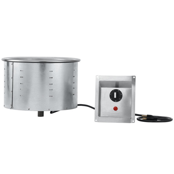 Vollrath 36463 7.25 Qt. Modular Drop In Soup Well 208/240V Main Image 1