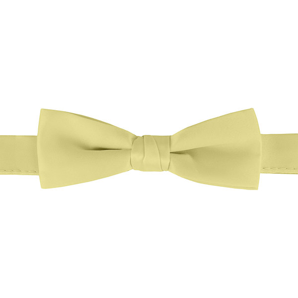 """Henry Segal Yellow 1 1/2"""" Wide Adjustable Band Poly-Satin Bow Tie Main Image 1"""