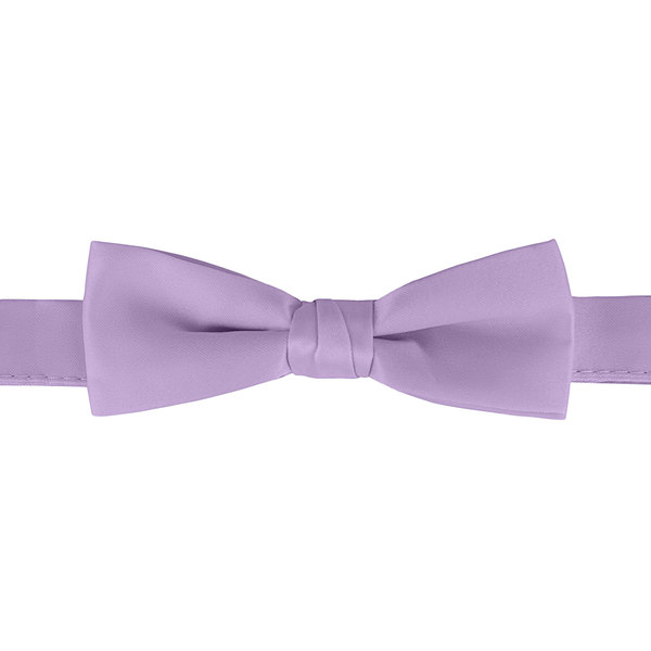 """Henry Segal Lavender 1 1/2"""" Wide Adjustable Band Poly-Satin Bow Tie Main Image 1"""
