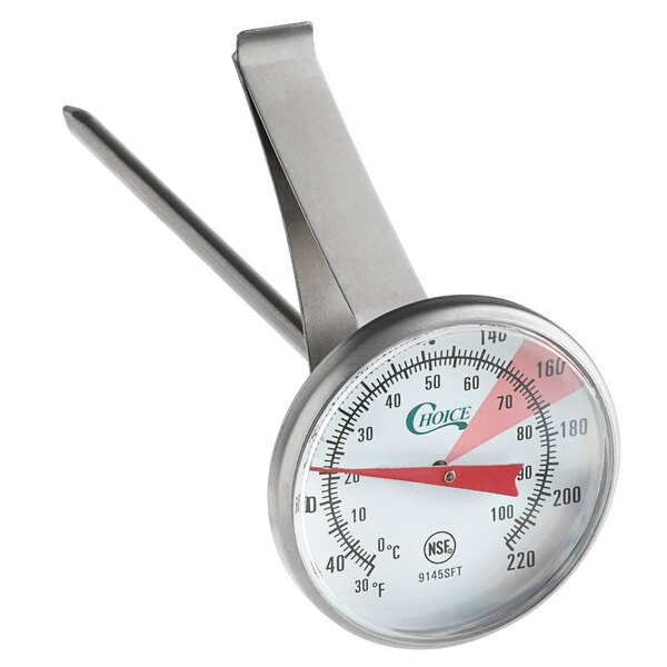 """Frothing Thermometer 30-220 Degrees Fahrenheit Details about  /5/"""" Hot Beverage"""