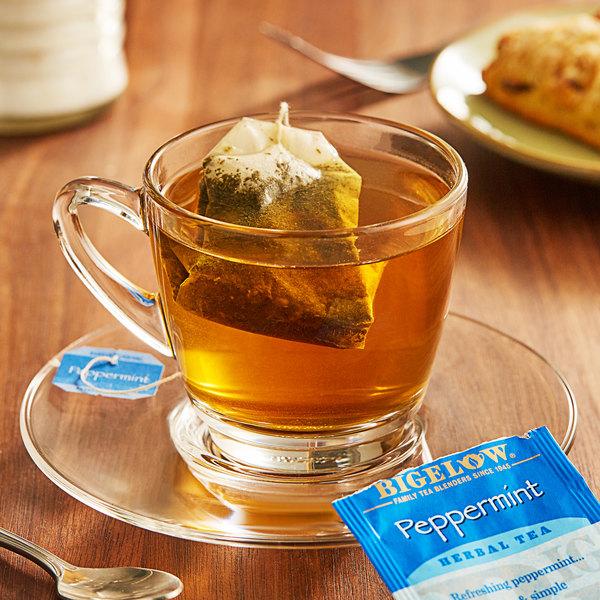 Bigelow Peppermint Herbal Tea Bags - 28/Box