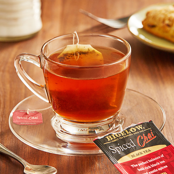 Bigelow Spiced Chai Tea Bags - 20/Box
