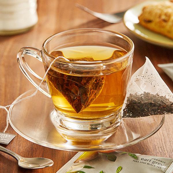 Steep Cafe By Bigelow Organic Earl Grey Tea Pyramid Sachets - 50/Case Main Image 3