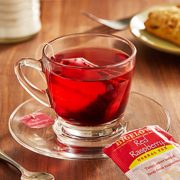 Bigelow Red Raspberry Herbal Tea Bags - 20/Box Main Image 2