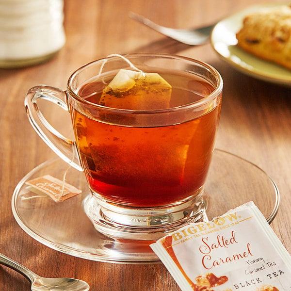 Bigelow Salted Caramel Black Tea Bags - 18/Box Main Image 2