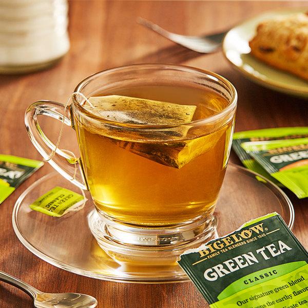 Bigelow Assorted Green Tea Bags - 18/Box Main Image 2