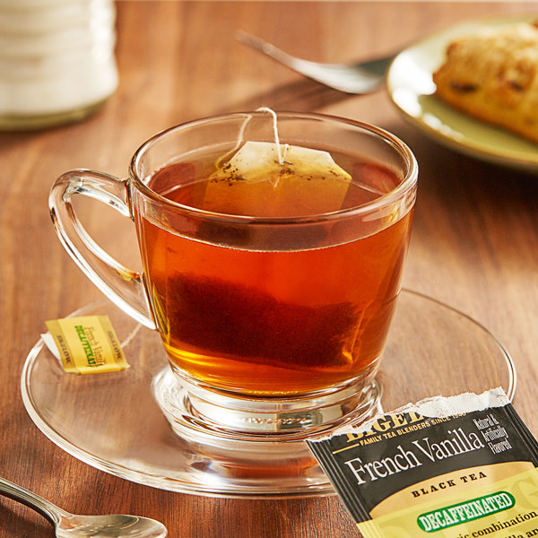 Bigelow French Vanilla Decaffeinated Tea Bags - 20/Box Main Image 2