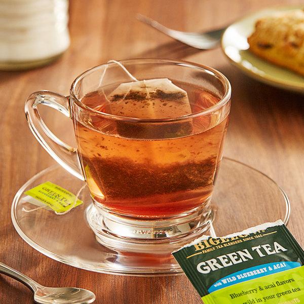 Bigelow Green Tea with Blueberry Acai Tea Bags - 20/Box Main Image 2