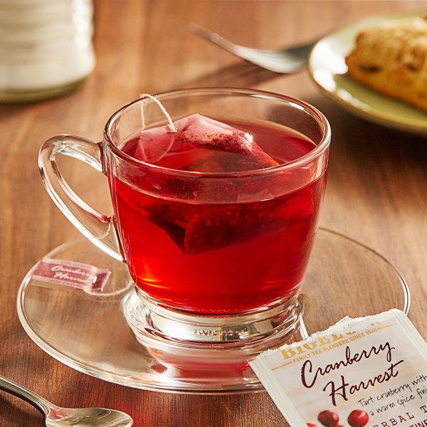 Bigelow Cranberry Harvest Herbal Tea Bags - 18/Box