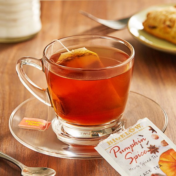 Bigelow Pumpkin Spice Tea Bags - 18/Box Main Image 2