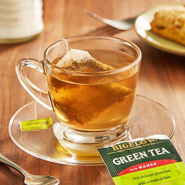 Bigelow Green Tea with Mango Tea Bags - 20/Box Main Image 2