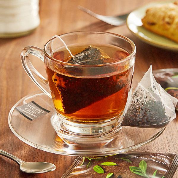 Steep Cafe By Bigelow Organic Oolong Tea Pyramid Sachets - 50/Case Main Image 3