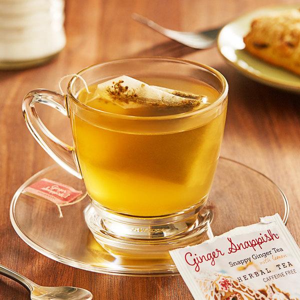 Bigelow Ginger Snappish Herbal Tea Bags - 18/Box