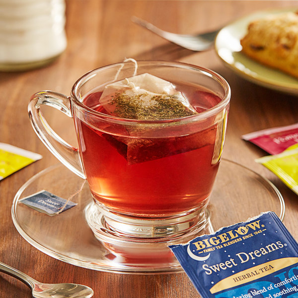 Bigelow Assorted Herbal Tea Bags - 18/Box Main Image 2