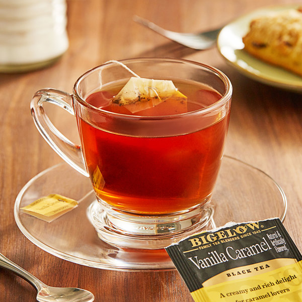Bigelow Vanilla Caramel Tea Bags - 20/Box