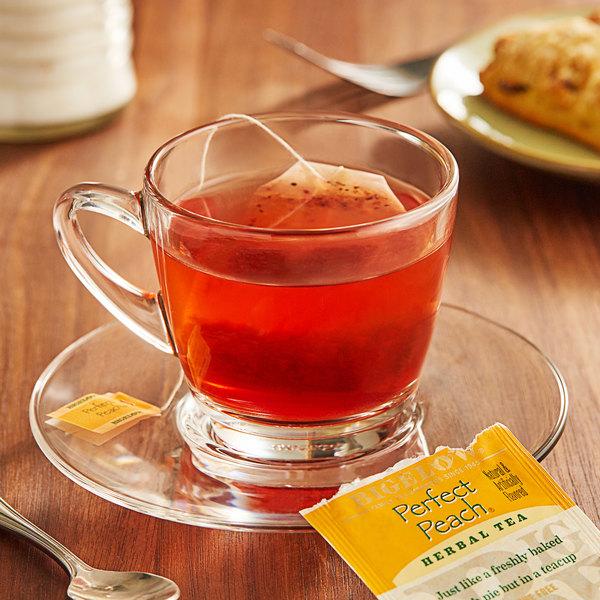 Bigelow Perfect Peach Herbal Tea Bags - 20/Box Main Image 2