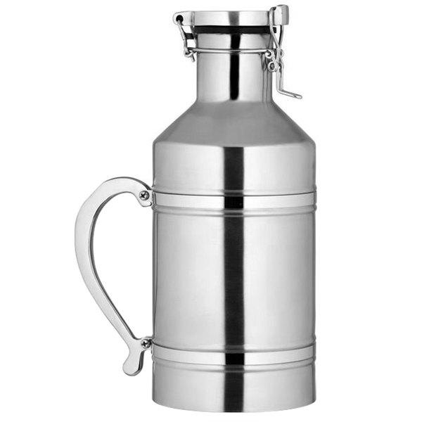 Bon Chef 61326 76 oz. 18/8 Stainless Steel Beer Growler Main Image 1