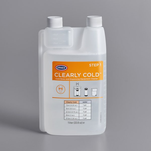 Urnex 13-CCO-UX1DN-02 32 oz. Clearly Cold Coffee Equipment Cleaner
