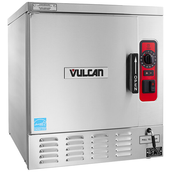 Vulcan C24EO5AF-1100 5 Pan Boilerless Electric Countertop Steamer with Auto-Fill - 240V, 3 Phase, 12 kW Main Image 1
