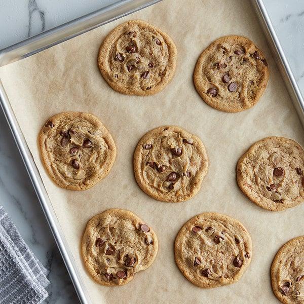 Rich's Jacqueline 1.5 oz. Preformed Vegan Chocolate Chip Cookie Dough - 210/Case Main Image 2