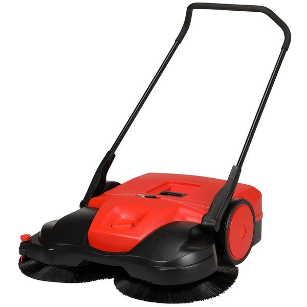 """Bissell Commercial BG-697 38"""" Battery Powered Triple Brush Power Sweeper Main Image 1"""