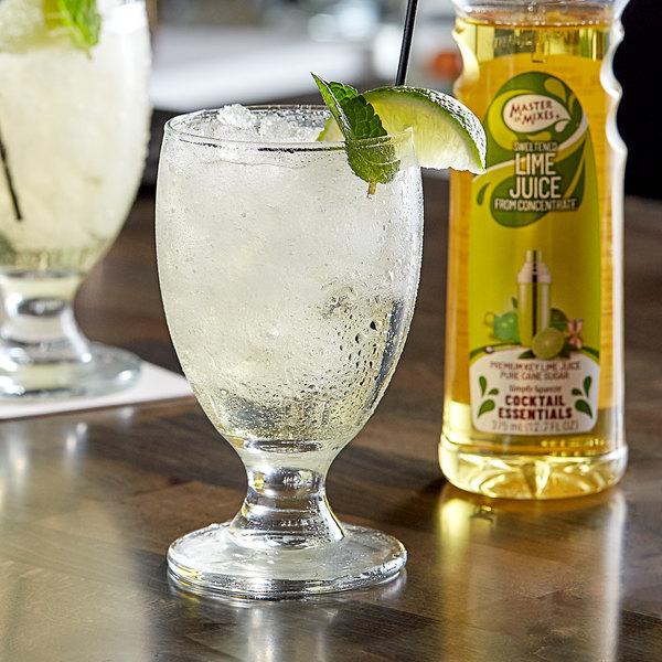 Master of Mixes 375 mL Sweetened Lime Juice